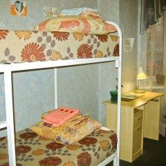 Хостел Достоевский Кровать в общем номере с двухъярусной кроватью фото 18