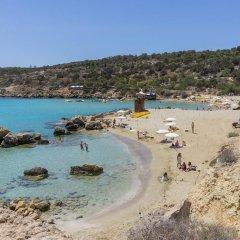 Отель Chara Elizabeth No 2 Villa Кипр, Протарас - отзывы, цены и фото номеров - забронировать отель Chara Elizabeth No 2 Villa онлайн пляж