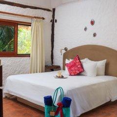 Отель Las Nubes de Holbox 3* Бунгало с различными типами кроватей фото 12