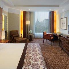 Radisson Blu Hotel Shanghai New World 5* Люкс повышенной комфортности с различными типами кроватей фото 2