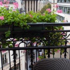 Отель Hôtel Opéra Richepanse 4* Люкс с различными типами кроватей фото 20
