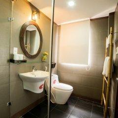 Отель Hoang Dao Villa 3* Улучшенный номер с различными типами кроватей фото 8