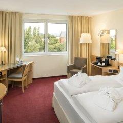 Отель NH Dresden Neustadt 4* Стандартный номер разные типы кроватей фото 3