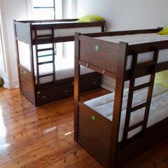 Lisb'on Hostel Кровать в общем номере с двухъярусной кроватью фото 6