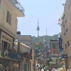 Отель K-Guesthouse Myeongdong 2 Южная Корея, Сеул - отзывы, цены и фото номеров - забронировать отель K-Guesthouse Myeongdong 2 онлайн балкон