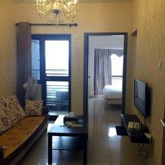 Апартаменты Shenzhen Grace Apartment Улучшенные апартаменты с различными типами кроватей фото 13