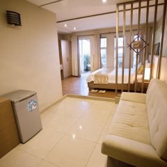 Thuy Sakura Hotel & Serviced Apartment 3* Люкс с различными типами кроватей фото 5