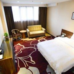 Отель Insail Hotels Railway Station Guangzhou 3* Номер Делюкс с двуспальной кроватью фото 24