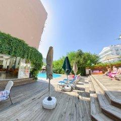 Orkide Hotel Турция, Мармарис - 1 отзыв об отеле, цены и фото номеров - забронировать отель Orkide Hotel онлайн бассейн фото 2