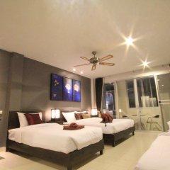 Отель The Guide Hometel 2* Семейный люкс 2 отдельные кровати