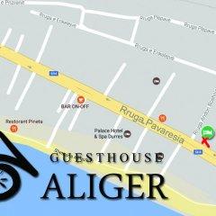 Отель Guesthouse Aliger городской автобус