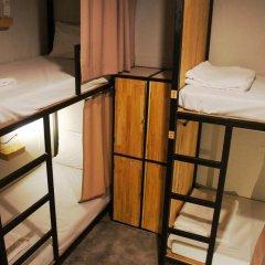 Homie Hostel & Cafe' 2* Кровать в общем номере фото 13