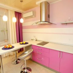 Апартаменты на Луговой 67/69 Студия с различными типами кроватей фото 18