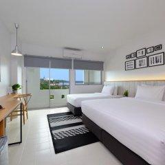 Отель Ruenthip Residence Pattaya 4* Номер Делюкс с различными типами кроватей фото 5