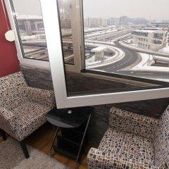Отель Crystal Code Apartments Сербия, Белград - отзывы, цены и фото номеров - забронировать отель Crystal Code Apartments онлайн балкон