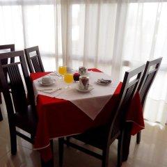 Hotel Apartamento Foz Atlantida Монте-Горду питание