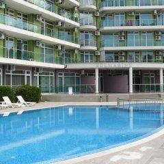 Отель Solmarin Apartcomplex Болгария, Солнечный берег - отзывы, цены и фото номеров - забронировать отель Solmarin Apartcomplex онлайн бассейн