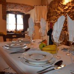 Отель La Vite In Castello Монтескудаио питание
