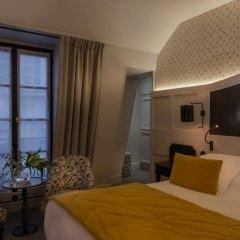 Отель Hôtel DAubusson 5* Улучшенный номер с различными типами кроватей фото 3
