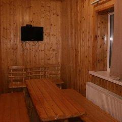 Гостиница Снежный барс Домбай сауна