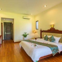 Отель Agribank Hoi An Beach Resort 3* Номер Делюкс с различными типами кроватей фото 9