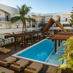 Отель Hm Playa Del Carmen Плая-дель-Кармен бассейн