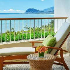 Отель Four Seasons Resort Oahu at Ko Olina 5* Номер с красивым видом с двуспальной кроватью фото 9