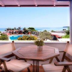 Отель Antigoni Beach Resort 4* Стандартный номер с двуспальной кроватью фото 2