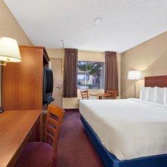 Отель Days Inn Las Vegas at Wild Wild West Gambling Hall 2* Стандартный номер с двуспальной кроватью фото 10