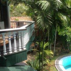 Отель Bavarian Guest House Шри-Ланка, Берувела - отзывы, цены и фото номеров - забронировать отель Bavarian Guest House онлайн балкон