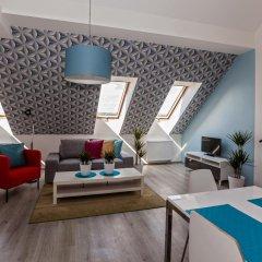 Апартаменты Comfortable Prague Apartments Улучшенные апартаменты с 2 отдельными кроватями фото 7