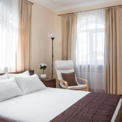 Апарт Отель Холидэй 3* Коттедж разные типы кроватей фото 7