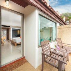 Отель Novotel Phuket Resort 4* Улучшенный номер с двуспальной кроватью фото 11
