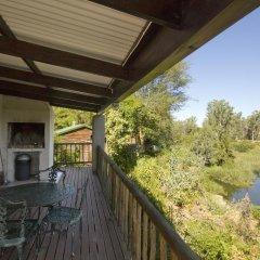 Отель Avoca River Cabins балкон
