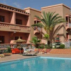 Отель Le Fint Марокко, Уарзазат - отзывы, цены и фото номеров - забронировать отель Le Fint онлайн бассейн фото 3