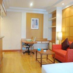 Отель Jasmine City 4* Студия Делюкс с разными типами кроватей фото 6
