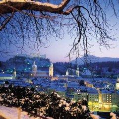 Отель EB Hotel Garni Австрия, Зальцбург - 1 отзыв об отеле, цены и фото номеров - забронировать отель EB Hotel Garni онлайн балкон