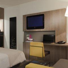 Отель Novotel Brussels City Centre 4* Улучшенный номер с разными типами кроватей фото 5