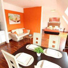 Апартаменты Royal Living Apartments Студия Делюкс с различными типами кроватей фото 3