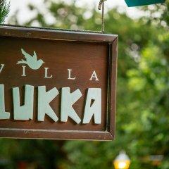 Отель Villa Lukka фитнесс-зал