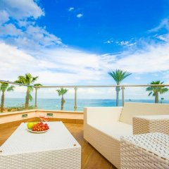 Отель Fig Tree Bay Apartments Кипр, Протарас - отзывы, цены и фото номеров - забронировать отель Fig Tree Bay Apartments онлайн балкон