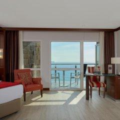 Отель Melia Alicante 4* Улучшенный люкс с различными типами кроватей фото 2