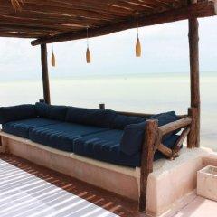 Отель Las Nubes de Holbox 3* Бунгало с различными типами кроватей фото 16