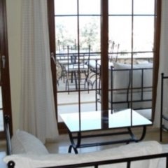 Апартаменты Deniz Apartment балкон
