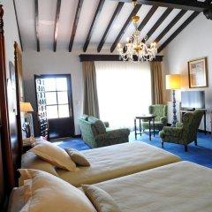Отель San Román de Escalante 4* Улучшенный номер с различными типами кроватей фото 16