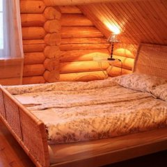 Гостиница Загородный комплекс отдыха Волжанка Коттедж Делюкс разные типы кроватей фото 7