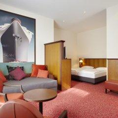 Hotel Hafen Hamburg 4* Стандартный номер разные типы кроватей фото 4