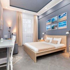 Мини-Отель Брусника Полежаевская Стандартный номер с различными типами кроватей фото 18