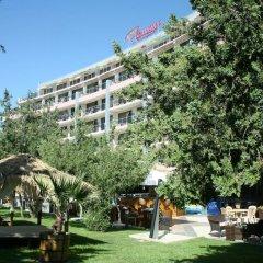 Отель Фламинго Солнечный берег вид на фасад фото 3