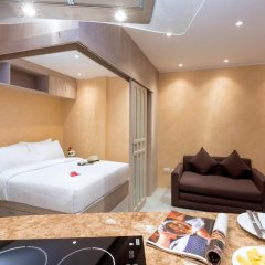 Отель Patong Bay Residence R07 2* Улучшенный номер с различными типами кроватей